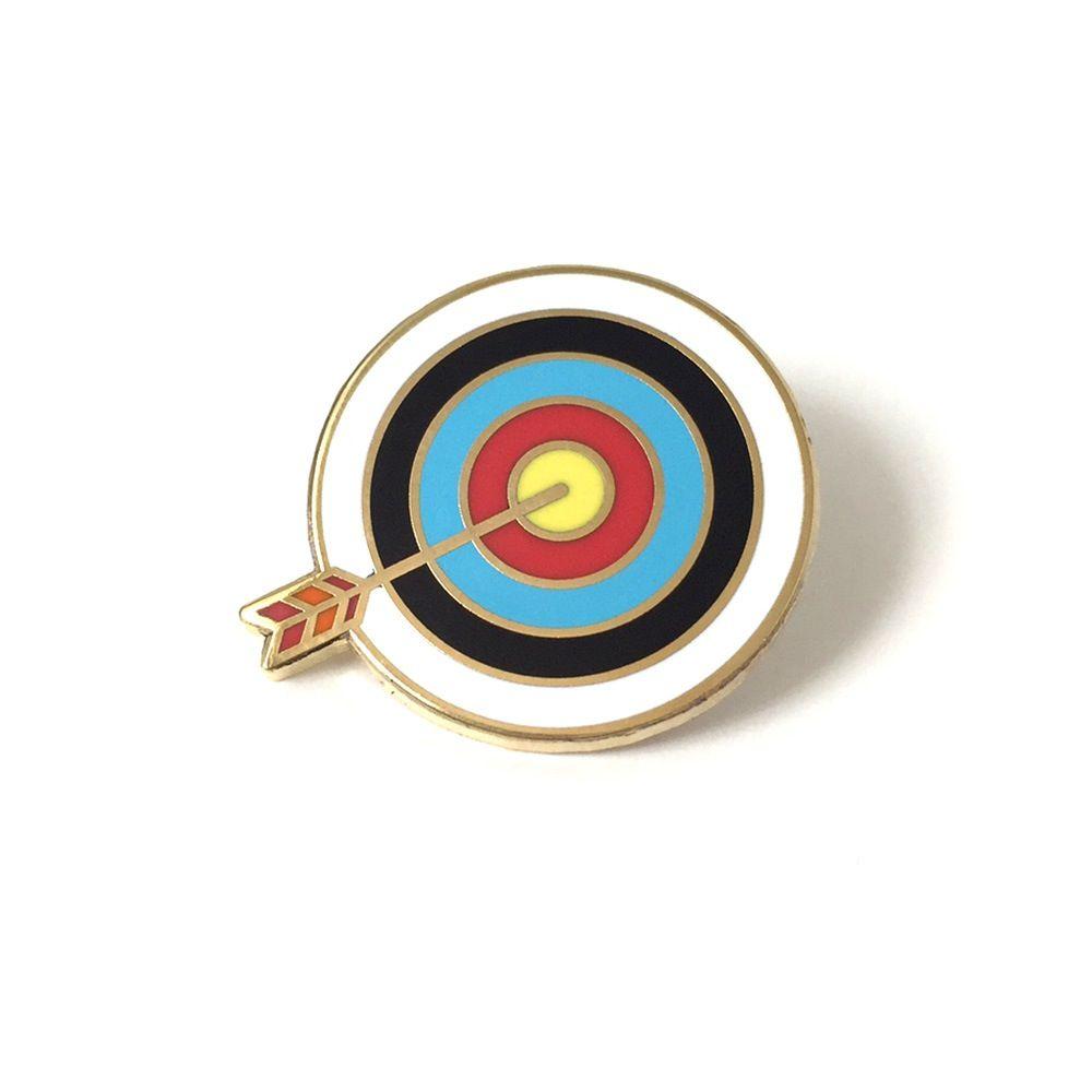 1ffe835f69b Target Pin   Fun Pins   Pin collection, Enamel, Plating