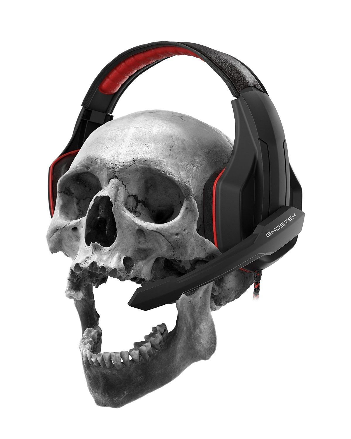 PC Gaming HeadsetGhostek HERO Wired Stereo Headphones with Microphone