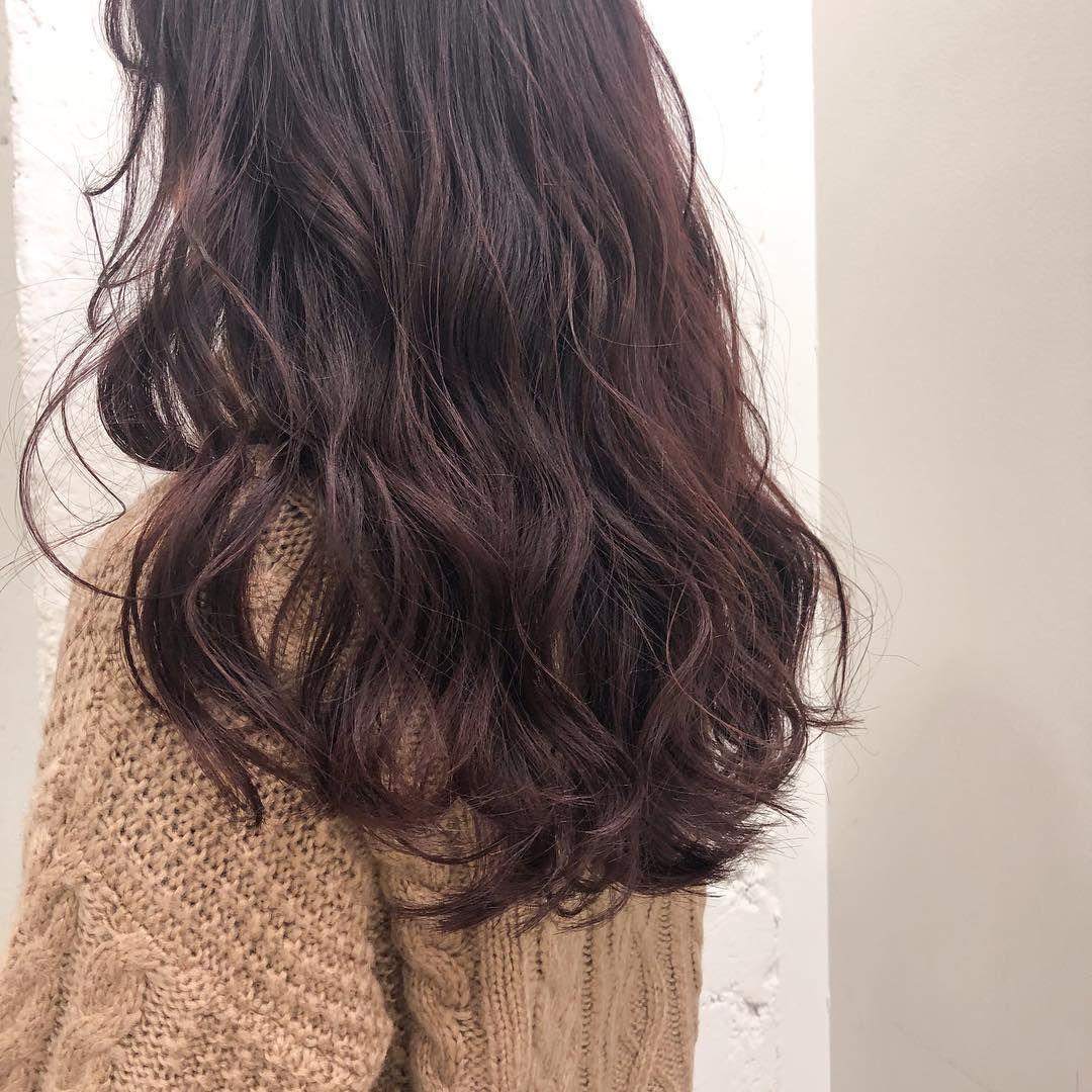 髪色にも春がやってきた ふんわり可愛い ココアピンク でパッと目を