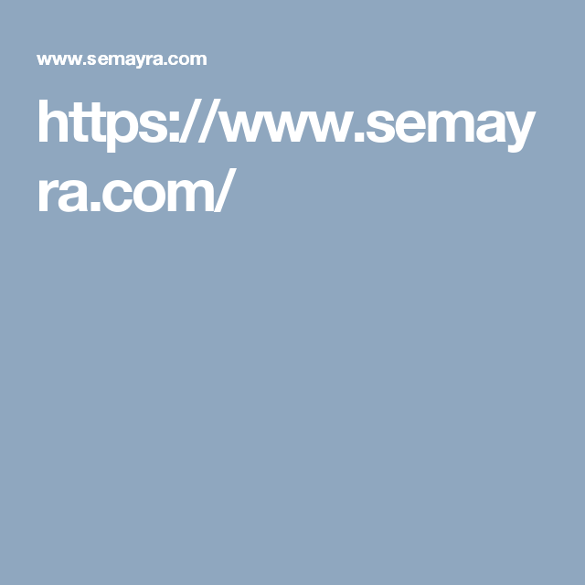 https://www.semayra.com/