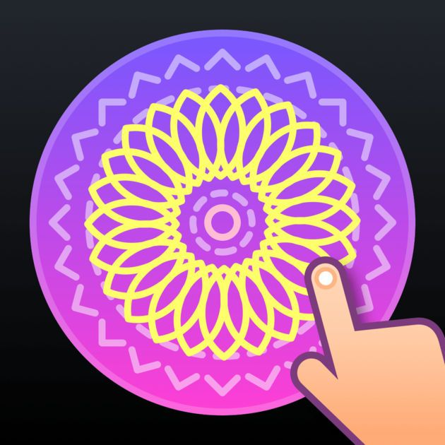 NEW iOS APP Dancing Wheel Paint on a spinning wheel