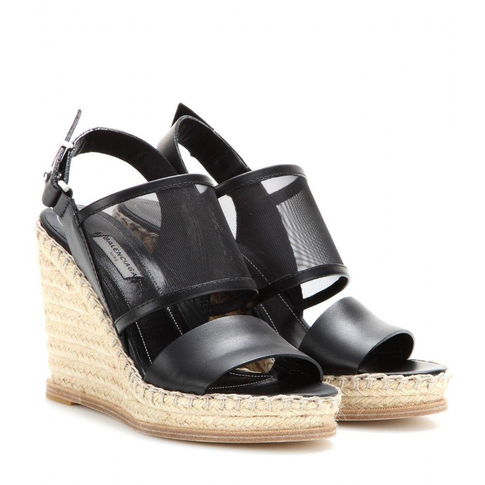 Balenciaga Mesh Slingback Sandals professional sale online cheap shop for cheap sale amazon yF9wV8h