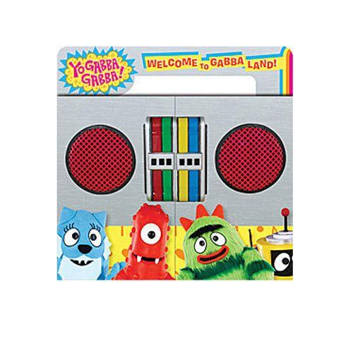 Yo Gabba Gabba Welcome To Gabba Land Book Ty S Toy Box