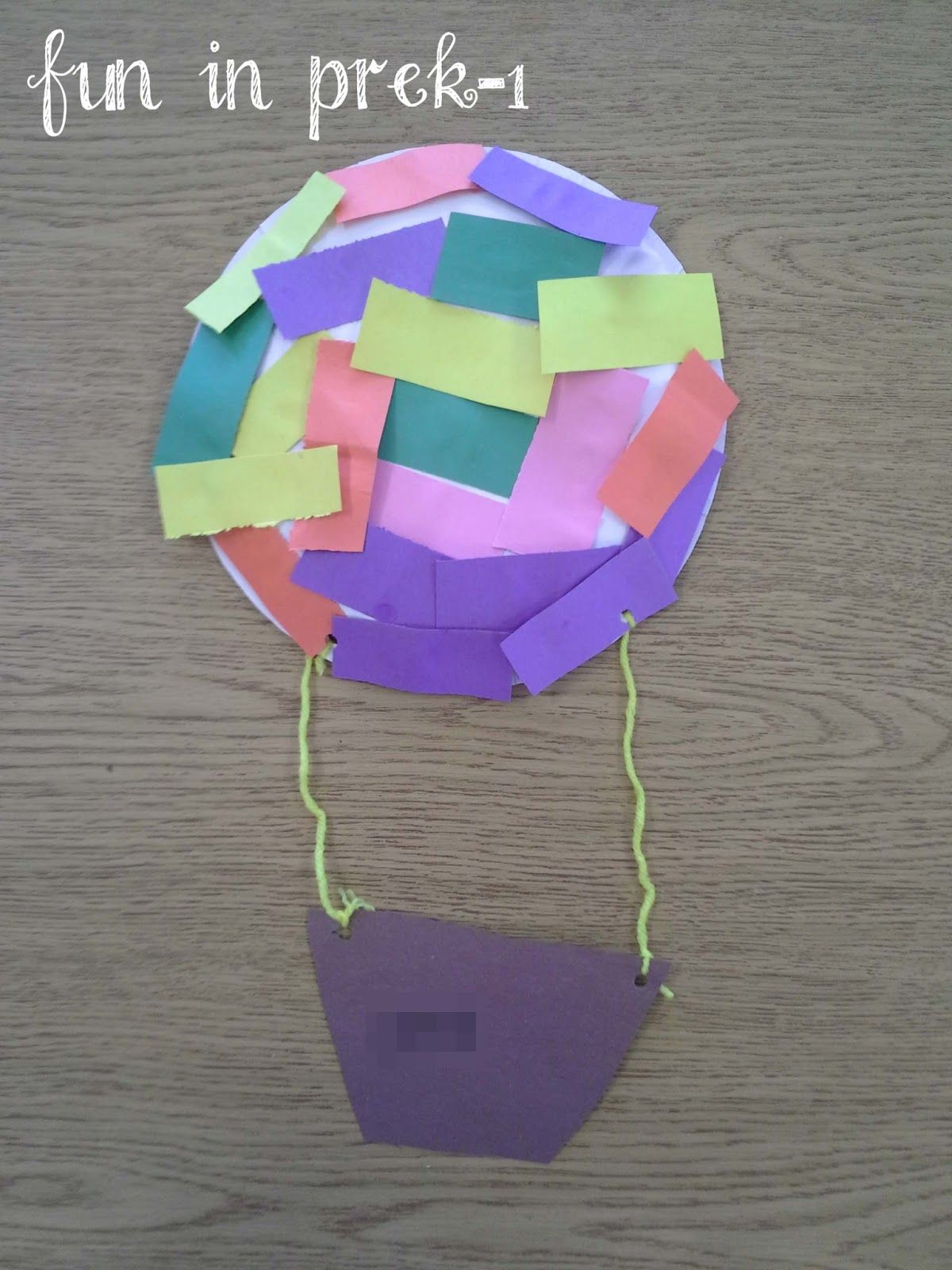 Air Transportation Theme From Fun In Prek 1 Art Projects