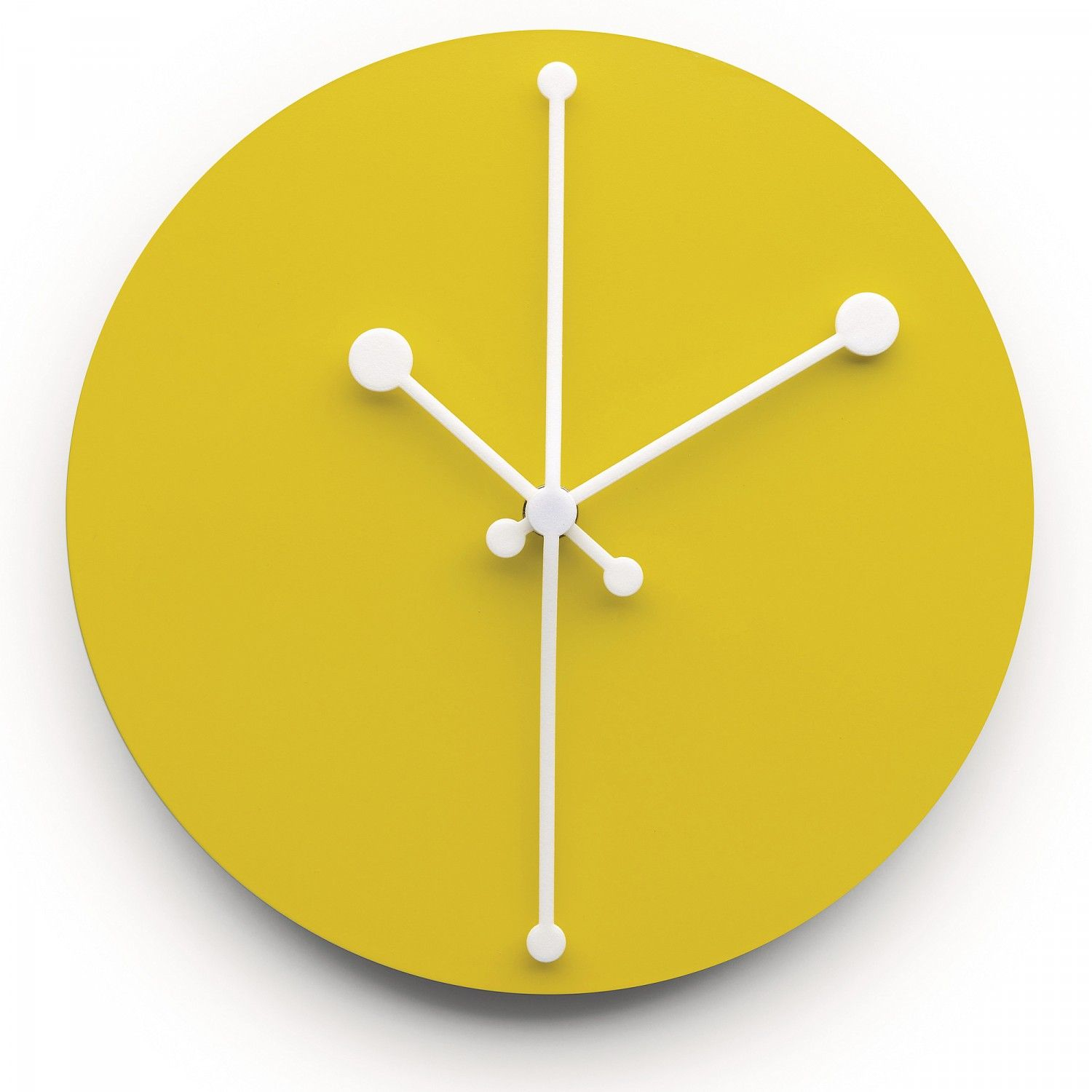 Wall Clock DOTTY by Alessi | Clock | Pinterest | Wall clocks, Clocks ...