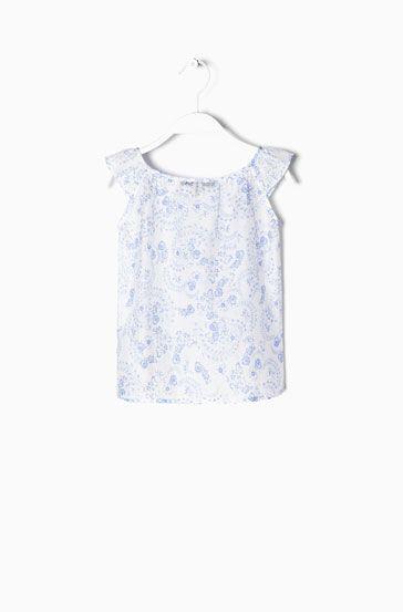 TOP ESTAMPADO FLOR - Camisas & Blusas - BOYS & GIRLS - México