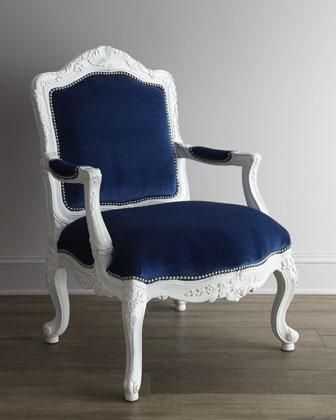 Attirant Royal Blue Velvet Chair   Google Search
