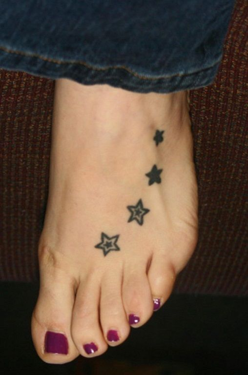 Accept. opinion Star tattoo on foot amusing