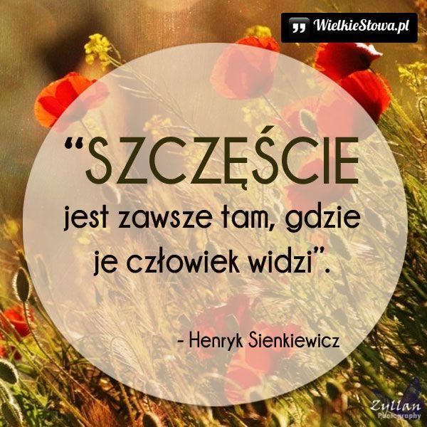 Szczęście Jest Zawsze Tam Sienkiewicz Henryk Szczęście