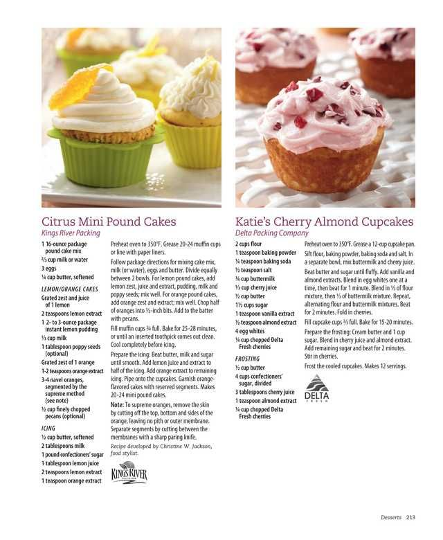 Costco Mini Cupcakes : costco, cupcakes, Costco, Connection, Simply, Delicious:, Almond, Cupcakes,, Sweet, Cakes,, Cherry
