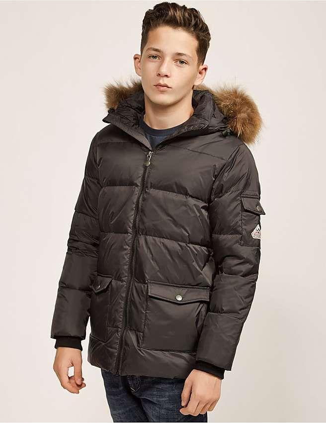 09d8a295f351 black Pyrenex Kids  Authentic Jacket Boys