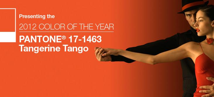 Trendfarben im Esszimmer für 2012 – Tangerine Tango #esszimmer ...