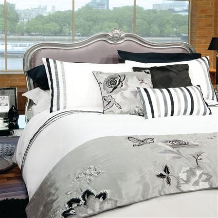 This Morning Auvergne Duvet Cover Set Black Home Beautiful Bedding Bed