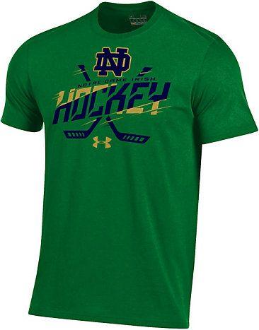 Under Armour University Of Notre Dame Fighting Irish Hockey Charged Cotton T Shirt University O Notre Dame Fighting Irish Notre Dame University Cotton Tshirt