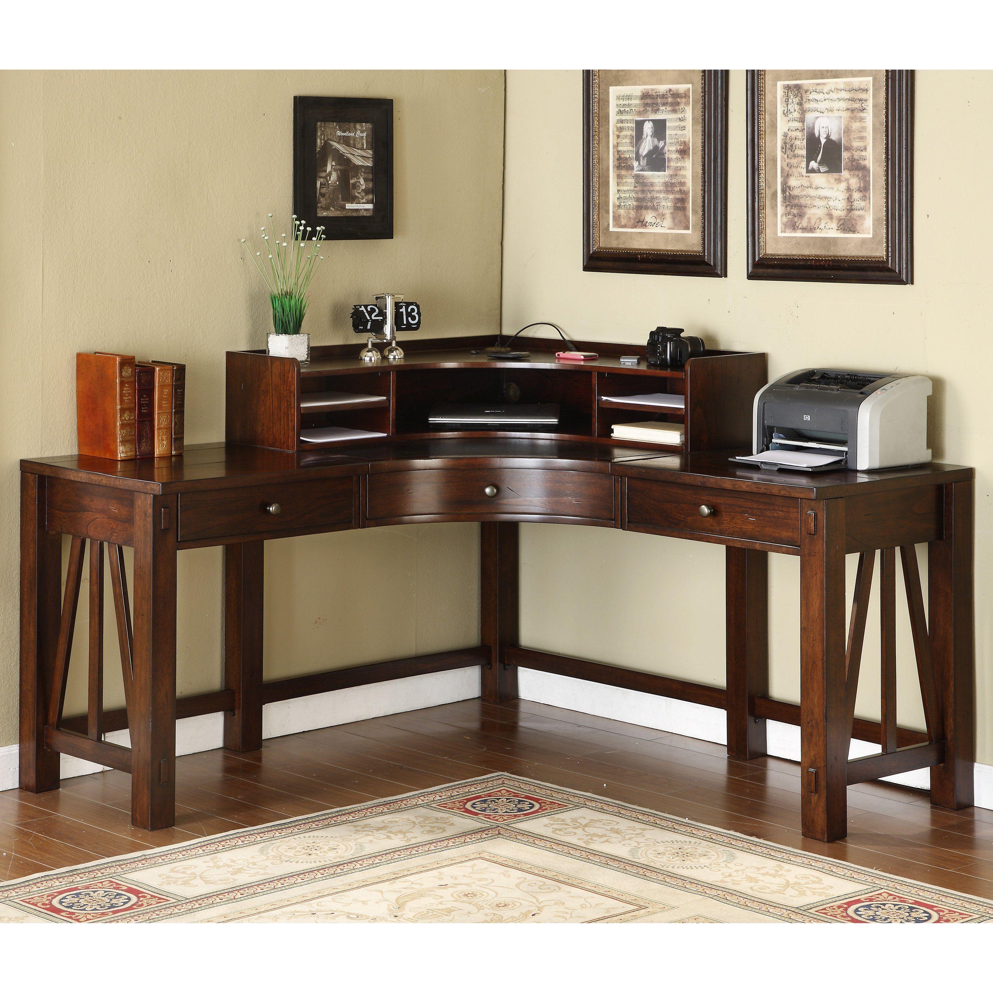 Corner Desk Dark Wood Living Room Sets Furniture Check More At Http Www Intown