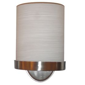 Allen Roth Merington 6 5 In W 1 Light Brushed Nickel Pocket Wall