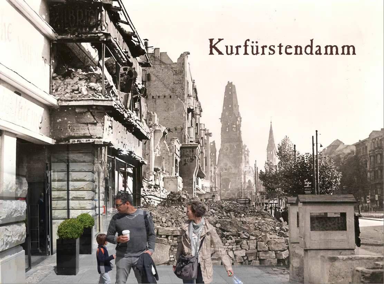 Kurfurstendamm 1945 Und Heute Berlin Geschichte Geschichte Der Welt Weltgeschichte