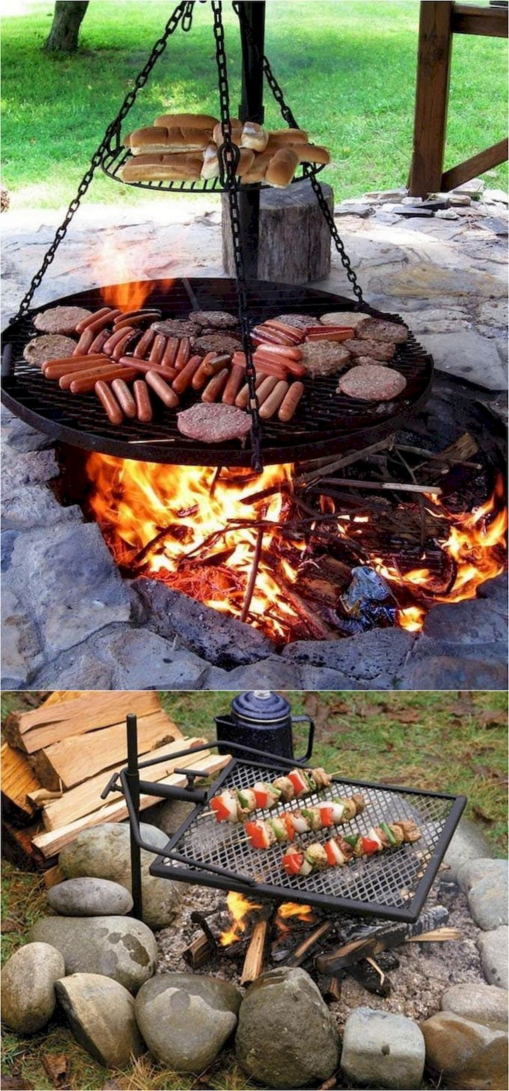Best Fire Pit Design Ideas For Backyard Fire Pit Decor Cool