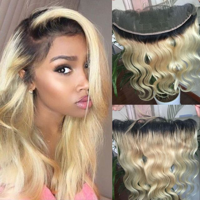 Hair Extensions & Wigs Kind-Hearted 613 Honey Blonde Color Remy Brazilian Straight Lace Front Human Hair Wig 8-26 Inch 1b 613 Ombre Frontal Wigs For Black Women