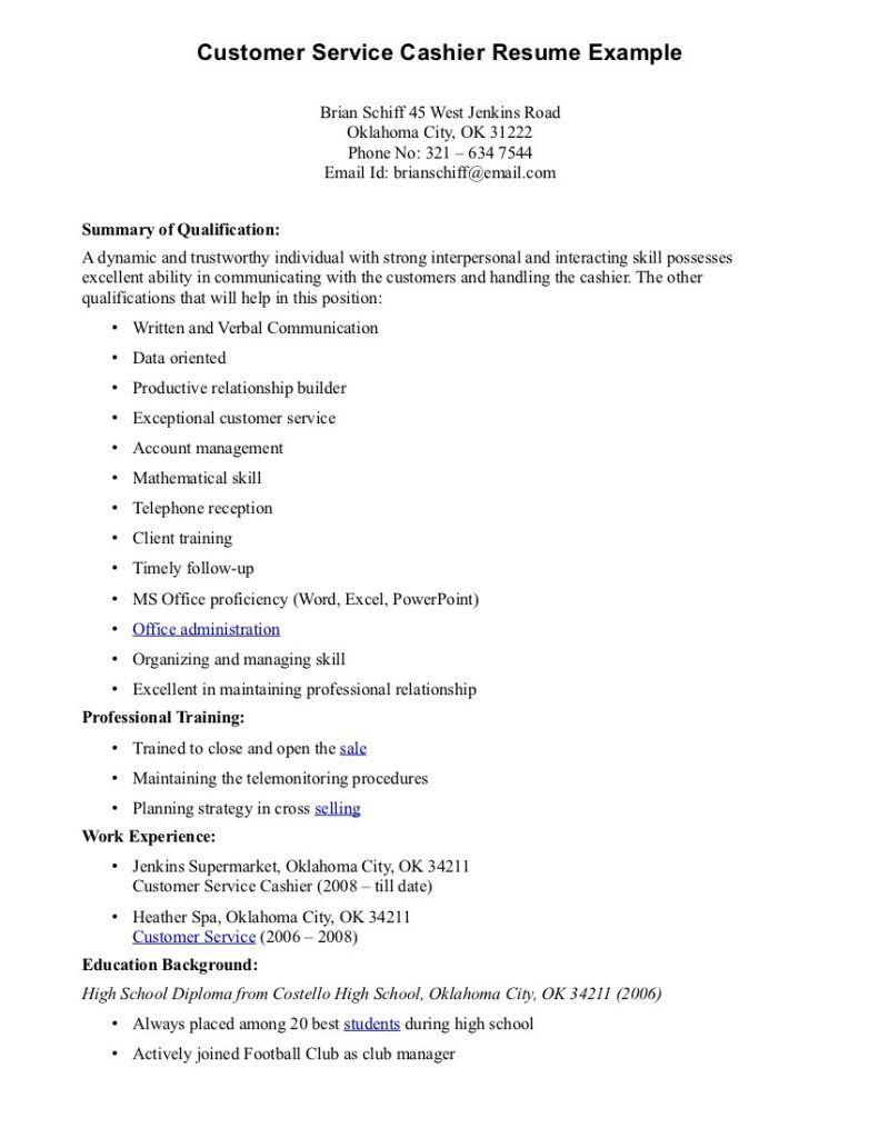 Cashier Job Description For Resume Gorgeous Bank Cashier Resume Sample Job Description And Template | Work Review