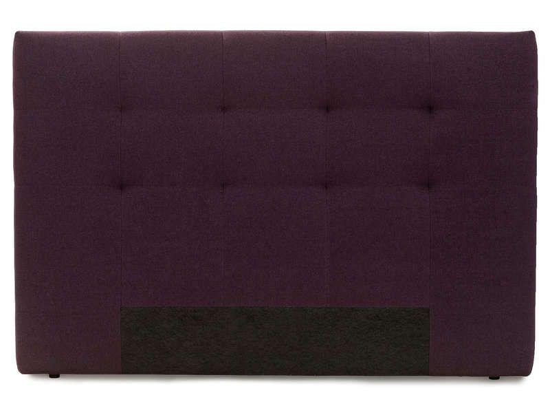 Tête de lit 165 cm NIGHTITUDE NEST coloris aubergine - Vente ...