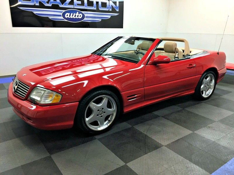 2005 Mercedes Benz Sl Class Sl500 5 0l Amg Sport Package With