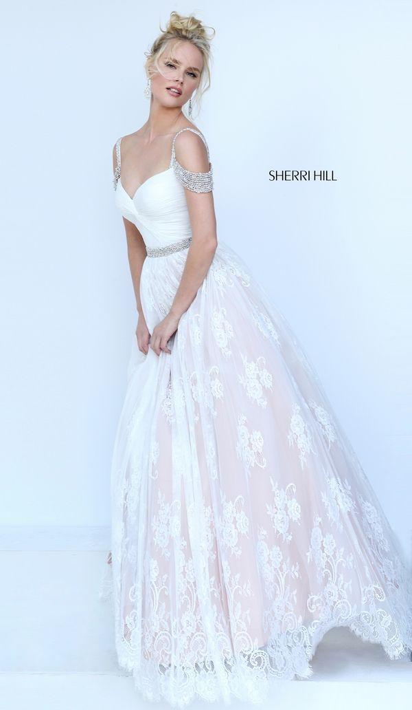 Sherri Hill 50595 | Sherri Hill | Pinterest | Kleider, Brautkleid ...