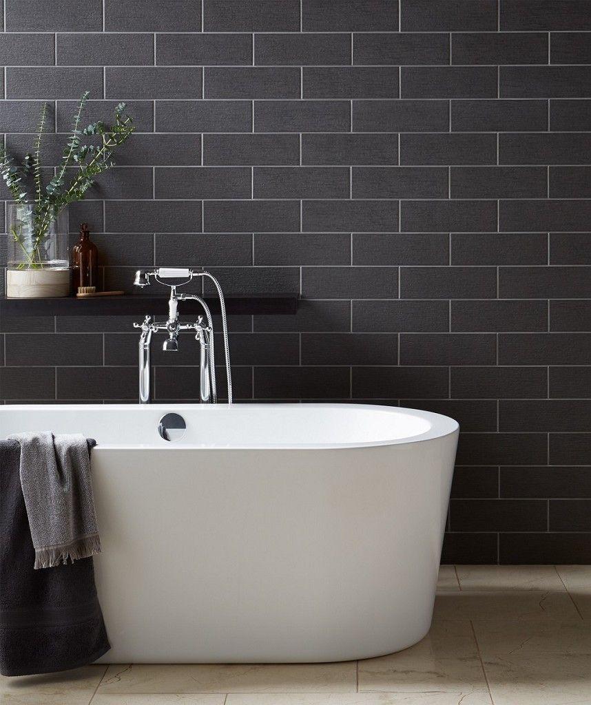 touchline smoke  tile bathroom topps tiles modern