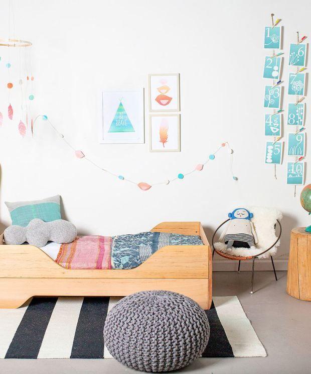 Habitaciones de estilo nórdico para los peques #niños #kidsroom