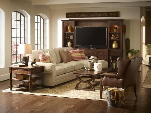 Traditional   Living Rooms   Kenneth Brown : Designer Portfolio : HGTV    Home U0026 Garden Television
