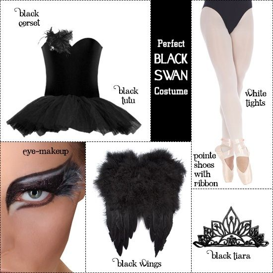 How To Make The Perfect Black Swan Costume Carnevale