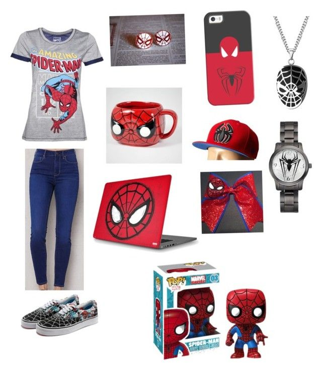 """Fandom Outfits #2 (Spider-Man) dedicated to my friend Faith"" by bree-hunter101 on Polyvore featuring art"