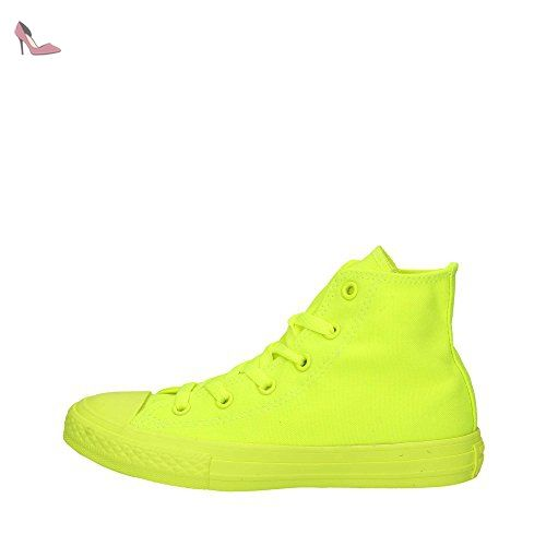 CONVERSE 656853C Sneakers Enfant Jaune fluo 33½ - Chaussures ...