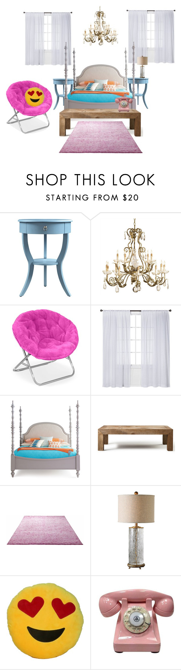 """My Bedroom"" by kayley2103 ❤ liked on Polyvore featuring interior, interiors, interior design, home, home decor, interior decorating, Currey & Company, Nate Berkus, Flamant and ESPRIT"