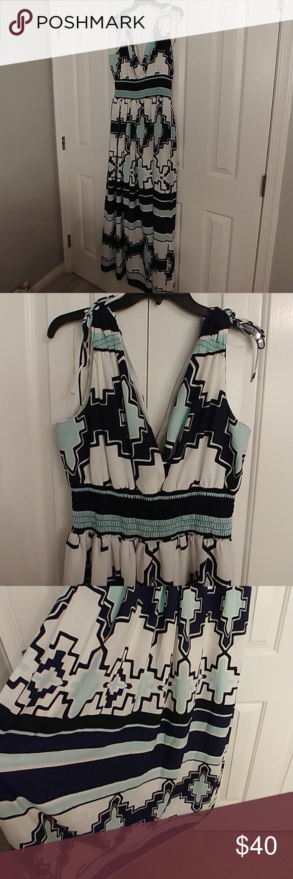 New york u co eva mendez maxi dress in my posh picks