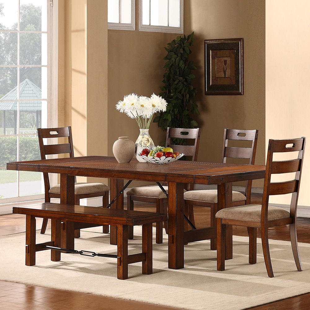 Charming TRIBECCA HOME Swindon Rustic Oak Turnbuckle Extending Dining Table    Overstock™ Shopping   Great Deals