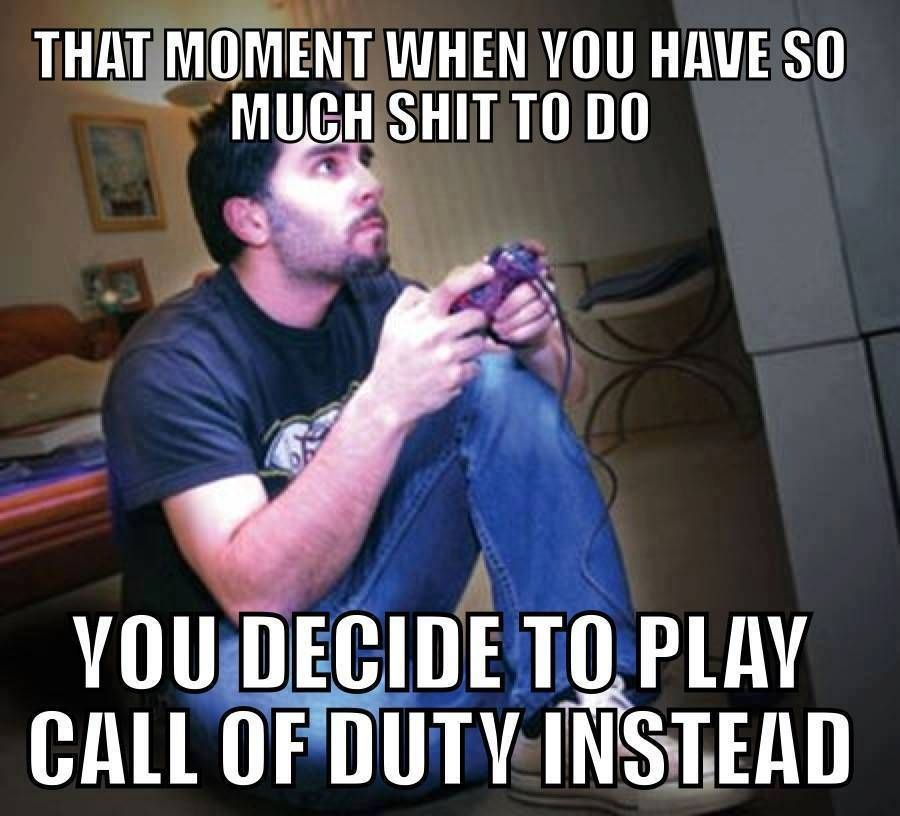 388a9b7af6dbaa0b965eabe484155513 always do this video game memes gaming & pc set ups