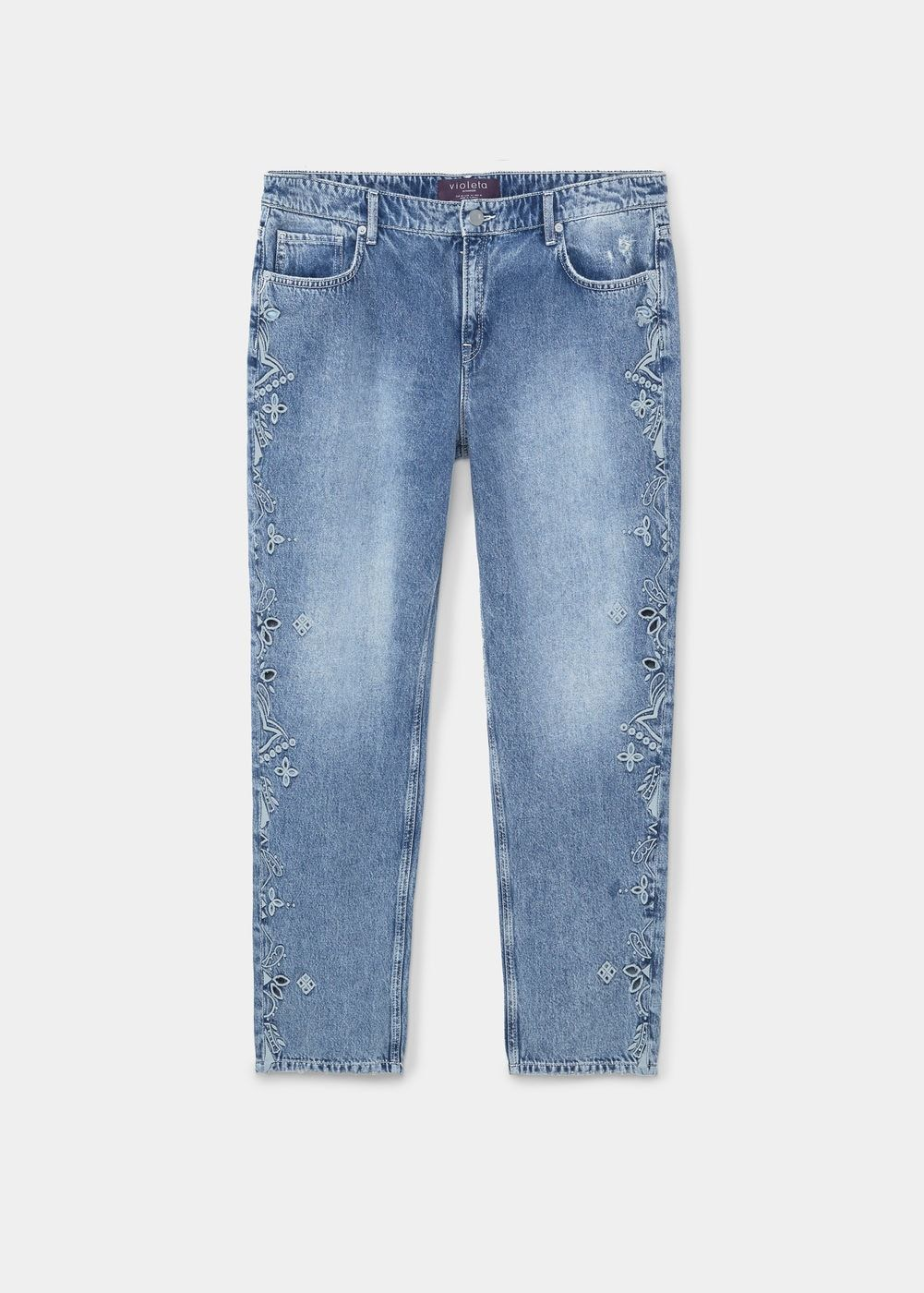e2f44683147f6a Jeans girlfriend bordados - Tallas grandes | Products that I love ...
