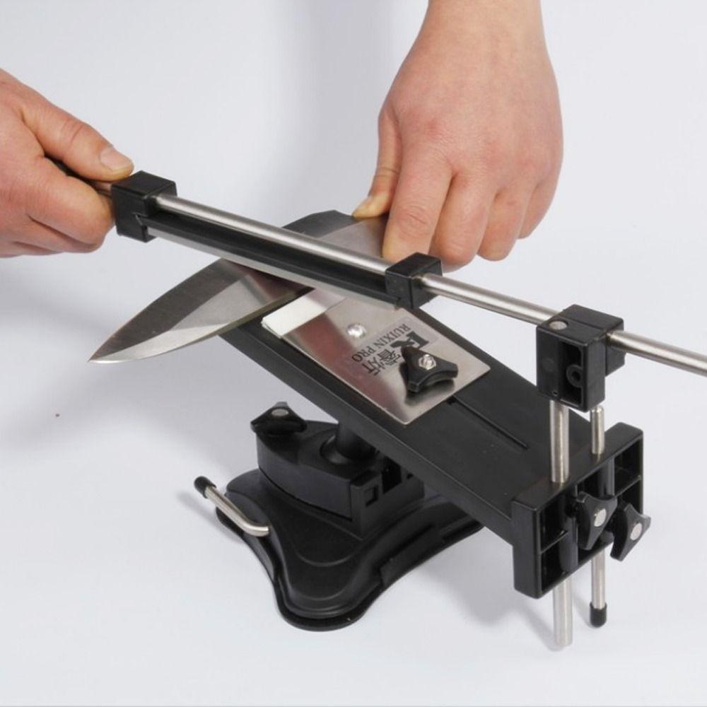 2015 new affilare i coltelli temperamatite più nuovo apex bordo pro sistema fix-angolo 4 pietre ruixin disegno per il russo itell trasporto veloce. #coltelli #knives #sharping #blades #knife