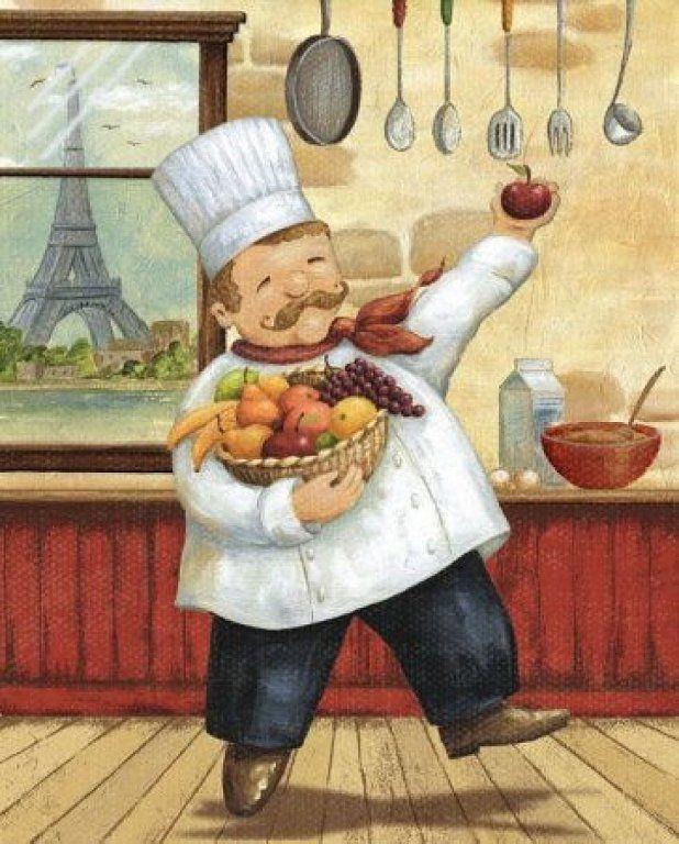 Mis Laminas para Decoupage | Berufe und Koch