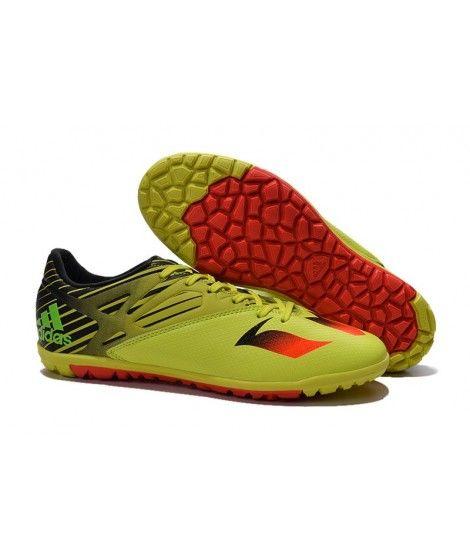55d03d33e Adidas MESSI 15.3 TF KUNSTGRÆS fodboldstøvler Bright-Gul Orange sort ...