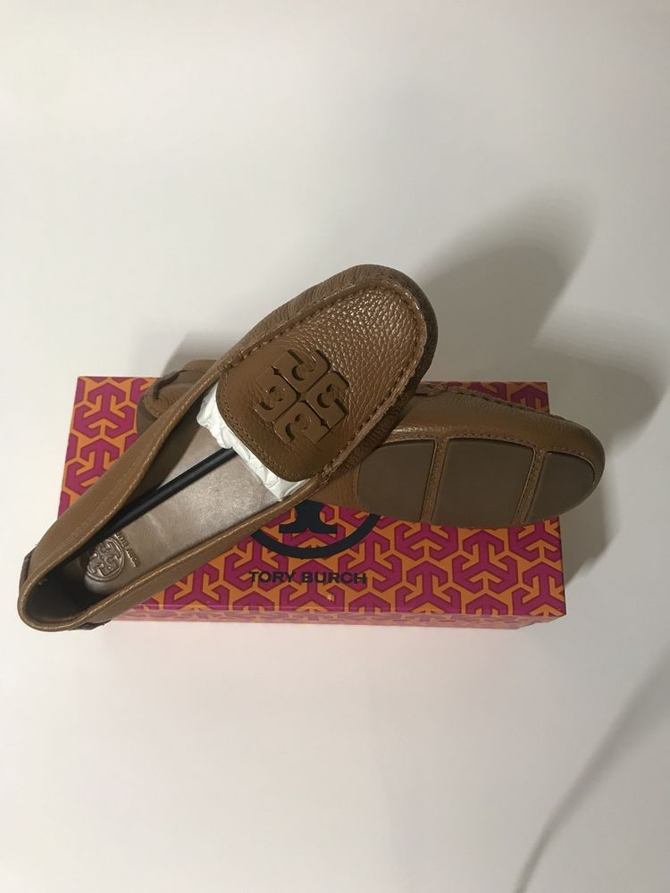 8d55d0f73b61 TORY BURCH NEW LOWELL 2 DRIVER   Royal Tan   Size 7.5  fashion  clothing   shoes  accessories  womensshoes  flats (ebay link)