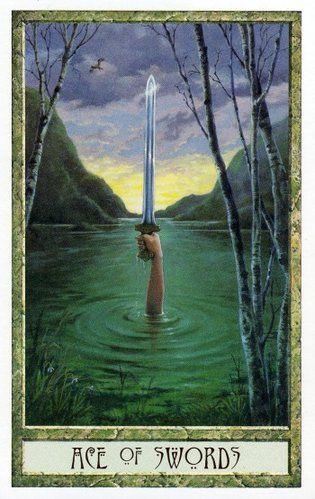 The Druid Craft Tarot ► Ace of Swords
