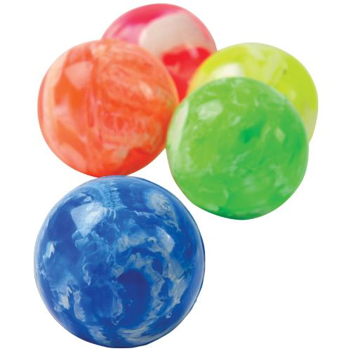8 Christmas Bouncy High Bounce Jet Balls Christmas Stocking Party Bag Filler