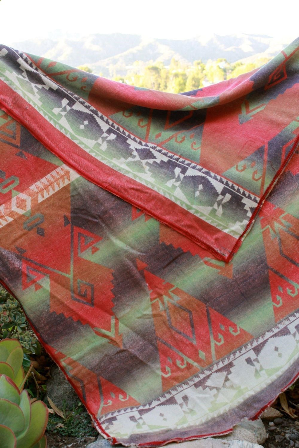 Camp Blankets Camping Blanket Native Vibes Beacon Camp Blanket 1940s Camping