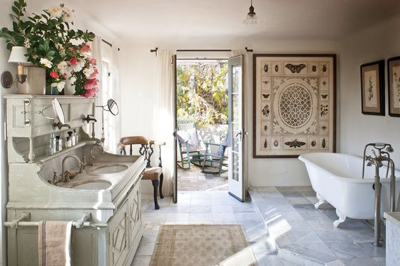 Vegetable Patch, Lavender Garden, and Plenty of Antiques: Inside Supermodel Carolyn Murphy's L.A. Home - Vogue