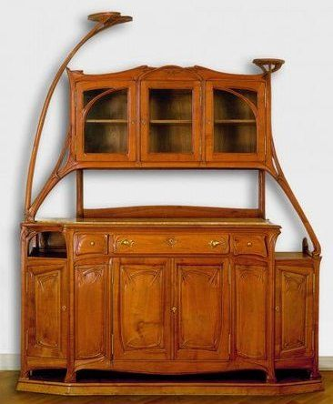buffet d 39 hector guimard hector guimard art nouveau pinterest art nouveau meubles art. Black Bedroom Furniture Sets. Home Design Ideas