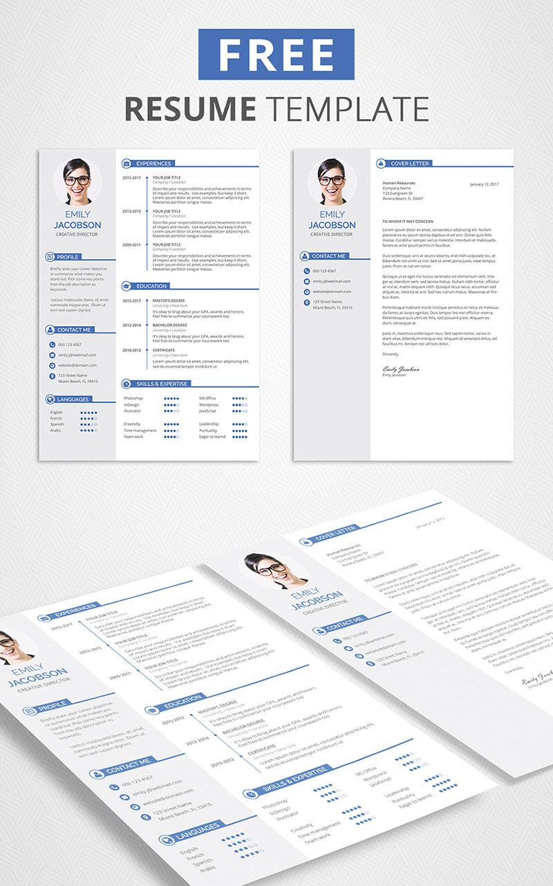 Free Resume Template Downloads Extraordinary Free Resume Template Download  Graphicadi  Pinterest  Free Cv .