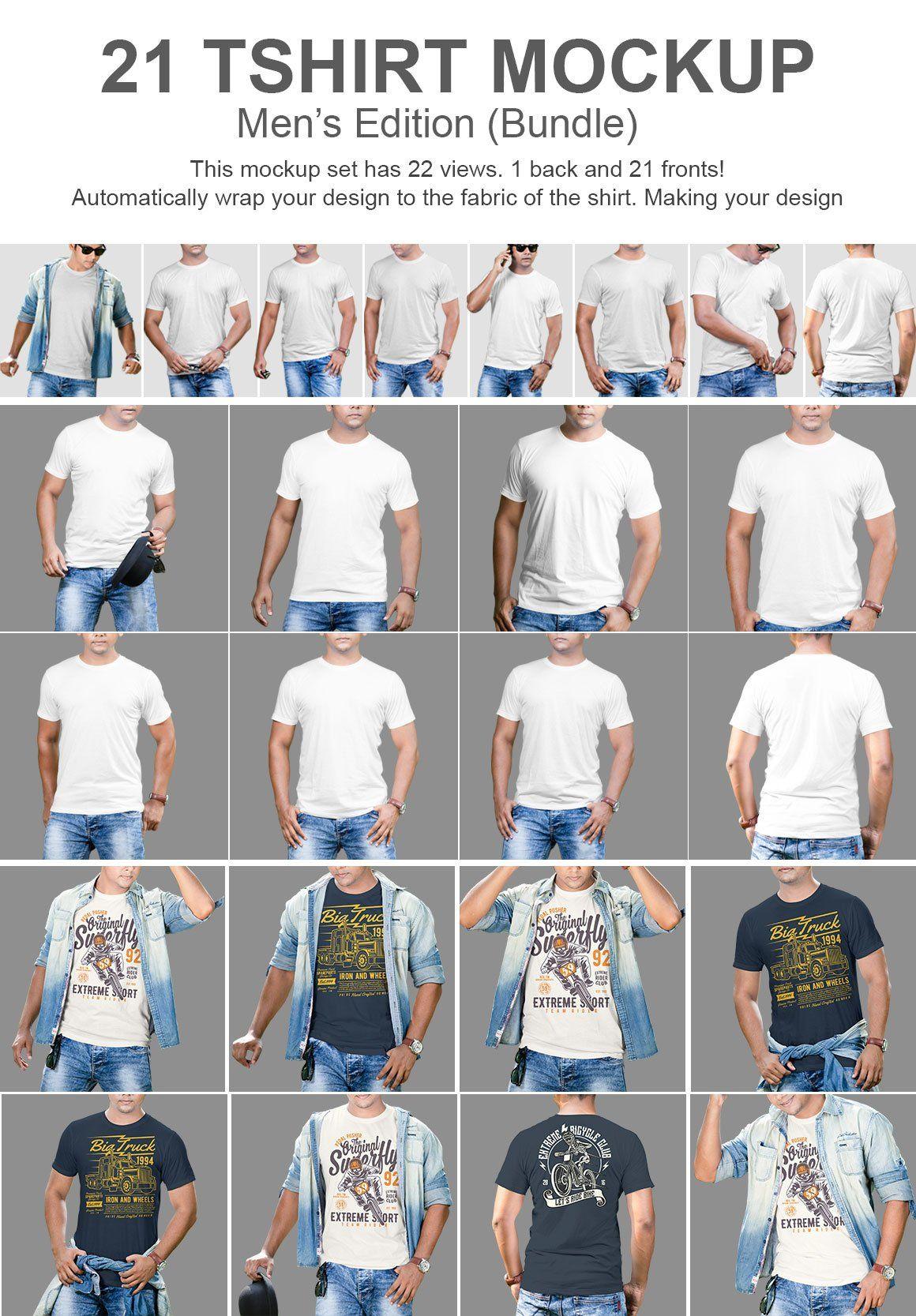 Download 21 Tshirt Mockup Bundle Clothing Mockup Tshirt Mockup Mockup