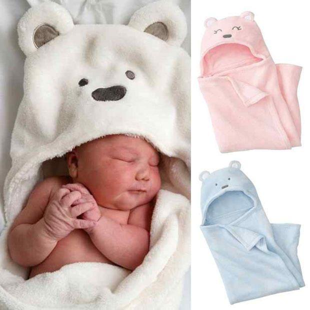 Free shipping minizone 2014 newborn baby coral velvet blankets ... a559186e67301